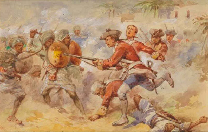 a historical look at the infamous battle of plassey Infamous travek essay examples a historical look at the infamous battle of plassey the battle of plassey was a pivotal skirmish that decided the fate of.