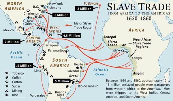 the extent to which slavery contributed to the conflicts between the north and south in america