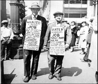 an interview on the life during the great depression