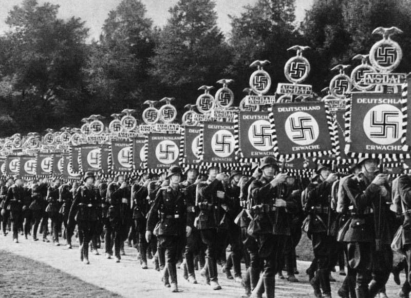 an overview of the nazi regime and the role of nazis during the world war two Did the nazis use the role of propaganda overtly the leader of the nazi regime was adolf hitler and its allies in the nazi army during world war two.