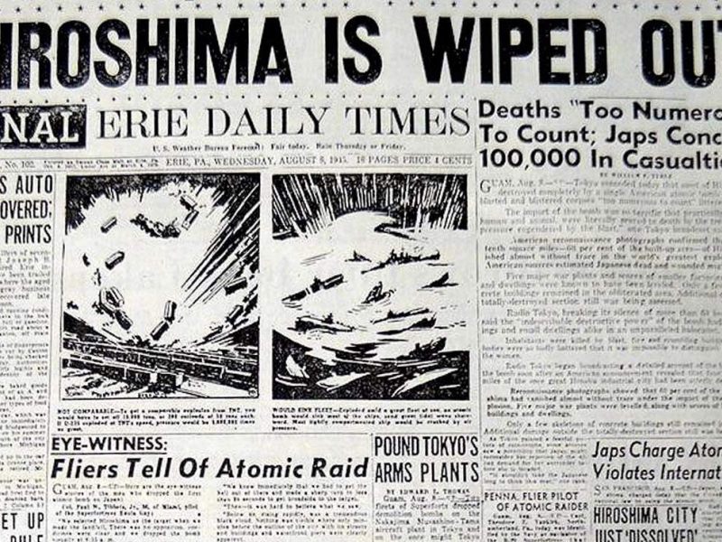 a reflection of trumans decision to drop the bomb The bombs were dropped with a desire to save lives, nothing more and nothing less the costs would have been innumerable and would have been furthermore, sending troops into japan and dropping a bomb on japan is essentially almost the same concept both are to decimate japan into rubbles in.